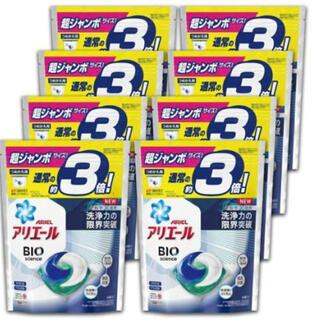 ピーアンドジー(P&G)のアリエールBIOジェルボール つめかえ超ジャンボサイズ 洗濯洗剤(洗剤/柔軟剤)