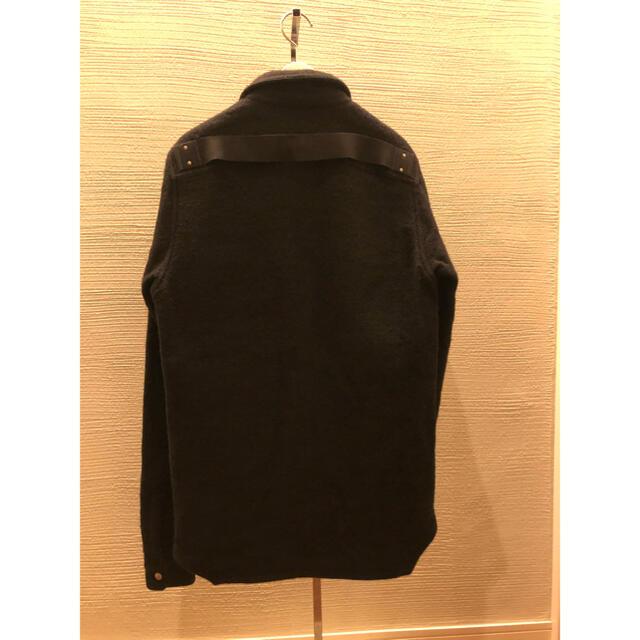 Rick Owens(リックオウエンス)のRick owens 18aw オーバーシャツ 46 アウターシャツ ジャケット メンズのジャケット/アウター(ミリタリージャケット)の商品写真