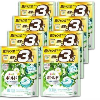 ピーアンドジー(P&G)のボールド ジェルボール3D グリーンガーデン&ミュゲの香り 詰替用 超ジャンボ(洗剤/柔軟剤)