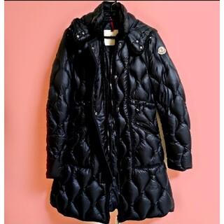 MONCLER - 美品 モンクレール lon ロング ダウン ジャケット コート 黒 ブラック