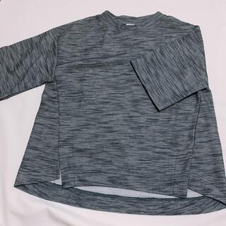 アズノゥアズピンキー(AS KNOW AS PINKY)のAS KNOW AS PINKY モザイクモックネックTシャツ(Tシャツ(半袖/袖なし))
