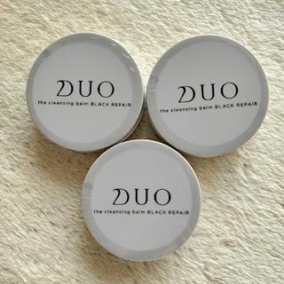 DUO  デュオ ザ クレンジングバーム   ブラックリペア  20g × 3個
