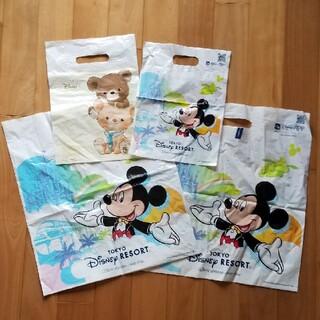 ディズニー(Disney)のディズニー Disney ショッピングバッグ 袋 中古(ショップ袋)