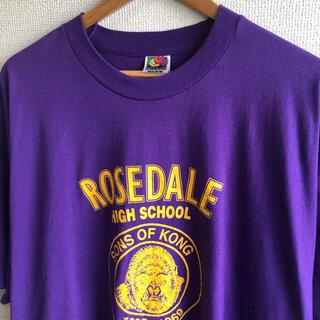 フルーツオブザルーム  プリント Tシャツ FRUIT OF THE LOOM(Tシャツ/カットソー(半袖/袖なし))