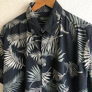 アロハシャツ シルク100%  総柄 VAN HEUSEN(シャツ)