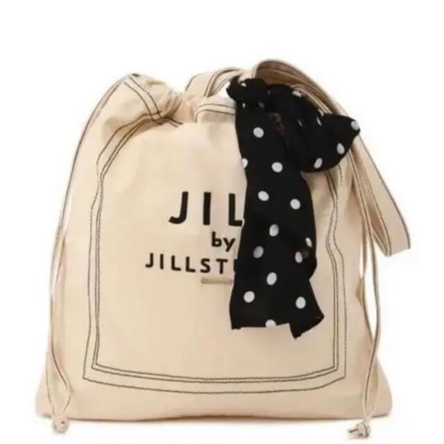 JILL by JILLSTUART(ジルバイジルスチュアート)のJILL by JILLSTUART スカーフロゴトートバッグ ホワイト レディースのバッグ(トートバッグ)の商品写真