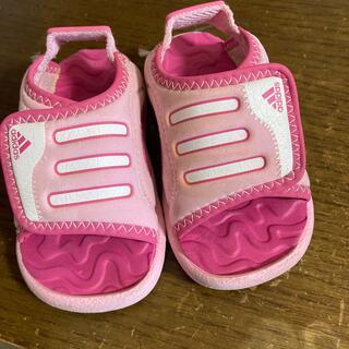 アディダス(adidas)のアディダス  ベビー サンダル 12センチ(サンダル)
