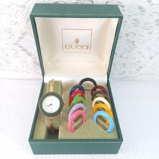 Gucci - グッチ 腕時計 チェンジベゼル 稼働品 2486185