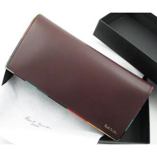 Paul Smith - ☆贈り物に☆新品☆箱付☆ポールスミス 人気マルチ 長財布 ワイン系☆