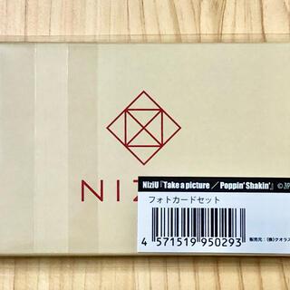 SONY - NiziU フォトカードセット Take a picture 新品未開封