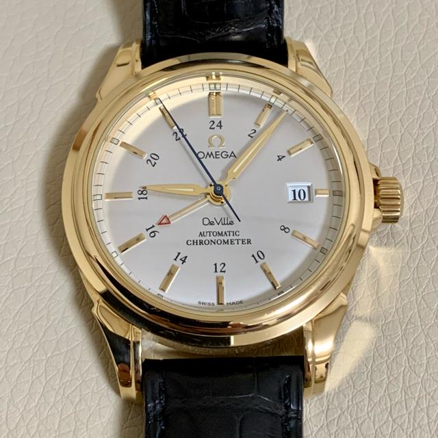 OMEGA(オメガ)のOMEGA DE VILLE コーアクシャル GMT 4633.30.31 メンズの時計(腕時計(アナログ))の商品写真