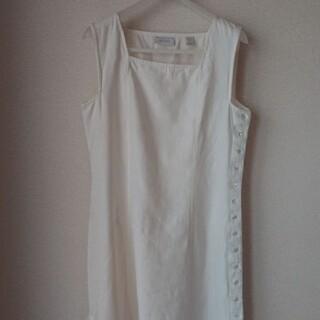 Lochie - 【 80'S Vintage 】LONG DRESS ノースリーブ white