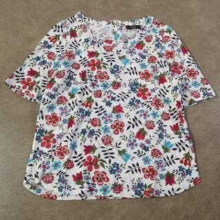 KEITH - キース リバティ L 40 Tシャツ 五分袖 夏