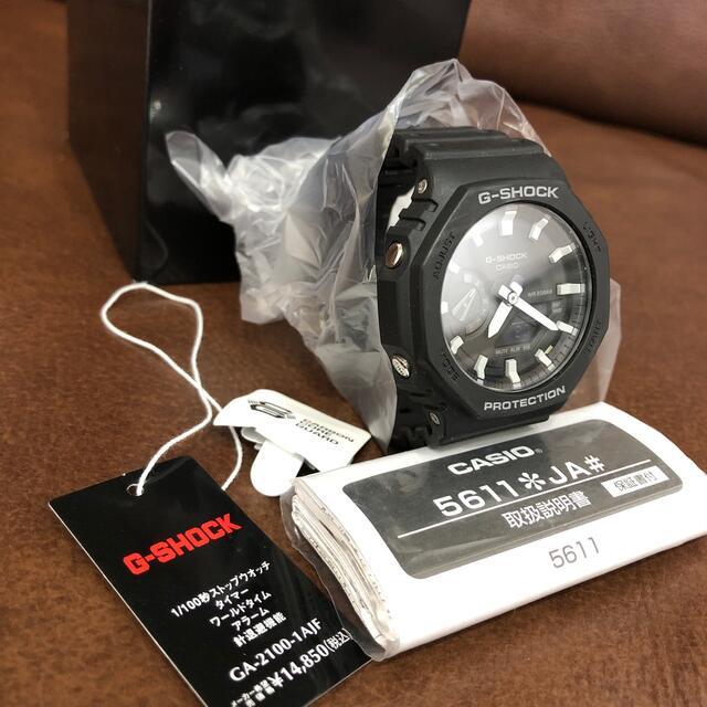 G-SHOCK(ジーショック)のCASIO GA-2100 コンビネーション 腕時計 G-SHOCK! メンズの時計(腕時計(アナログ))の商品写真