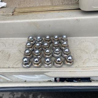 三菱 - デリカD5 アウトランダーなどにロックナット送料込み