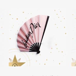 クリスチャンディオール(Christian Dior)のDior ノベルティ 扇子(ノベルティグッズ)