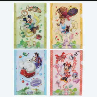 ディズニー(Disney)のクリアファイル クリアホルダー ディズニー(クリアファイル)