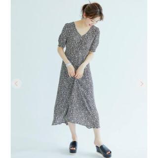 COCO DEAL - COCO DEAL 小花プリントAラインロングワンピース