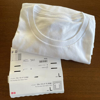 UNIQLO - 【未使用】ドライカラークルーネックT半袖 メンズLサイズ