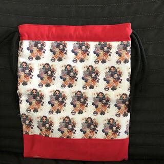 ハンドメイド 巾着袋(外出用品)