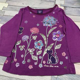 アナスイミニ(ANNA SUI mini)の売り切りセール‼️ANNA SUI mini 女の子ロンT 80cm(Tシャツ)