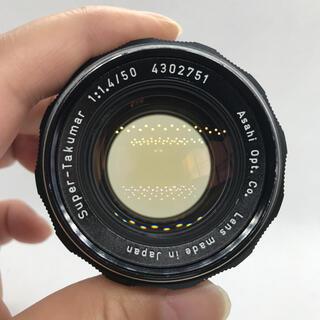 PENTAX - PENTAX super takumar 50mm f1.4 後期品!