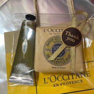 L'OCCITANE - ヴァーベナハンドクリーム&ソープ