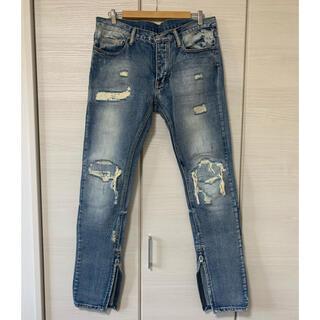 送料込み!mnml denim pants 34inch