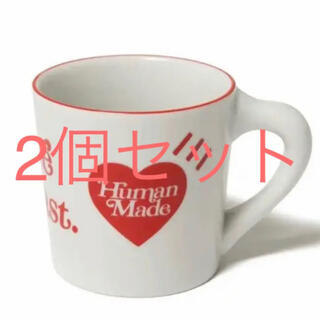 HUMAN MADE  girls don't cry MUG CUP マグ
