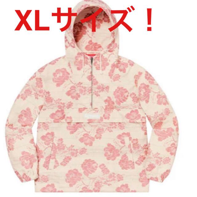 "Supreme(シュプリーム)のSupreme Floral Tapestry Anorak ""Pink"" XL メンズのジャケット/アウター(ナイロンジャケット)の商品写真"