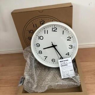 MUJI (無印良品) - 無印良品 掛け時計  未使用