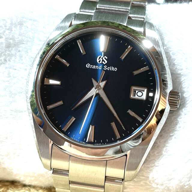 Grand Seiko(グランドセイコー)の限界お値下済グランドセイコーSBGV225 9F82、スーパークォーツ40mm メンズの時計(腕時計(アナログ))の商品写真