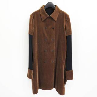 Yohji Yamamoto -  90s ヨウジヤマモト コーデュロイ ドッキング ハイブリッド コート