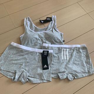 アディダス(adidas)の新品⭐︎アディダス スポーツブラ セット L(ブラ&ショーツセット)