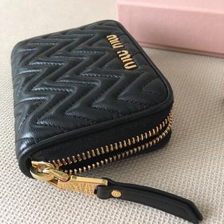miumiu - 【美品】ミュウミュウ マテラッセ コインケース  ミニ財布