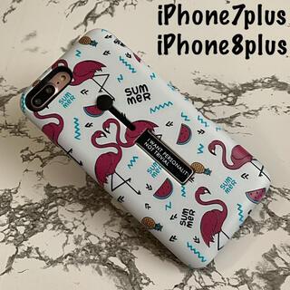 iPhone7plus/8plus専用 ケースカバー Summer(iPhoneケース)