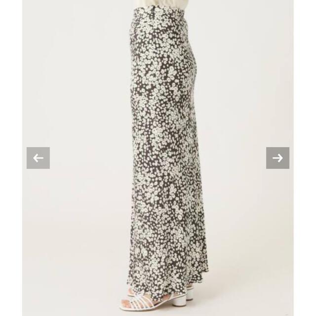 EDIT.FOR LULU(エディットフォールル)のEDIT.FOR LULU フラワーバイアス マキシスカート 34サイズ グレー レディースのスカート(ロングスカート)の商品写真