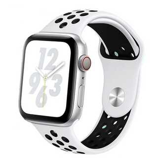 【B24】Apple Watch スポーツバンド42/44mm(ホワイト) (その他)