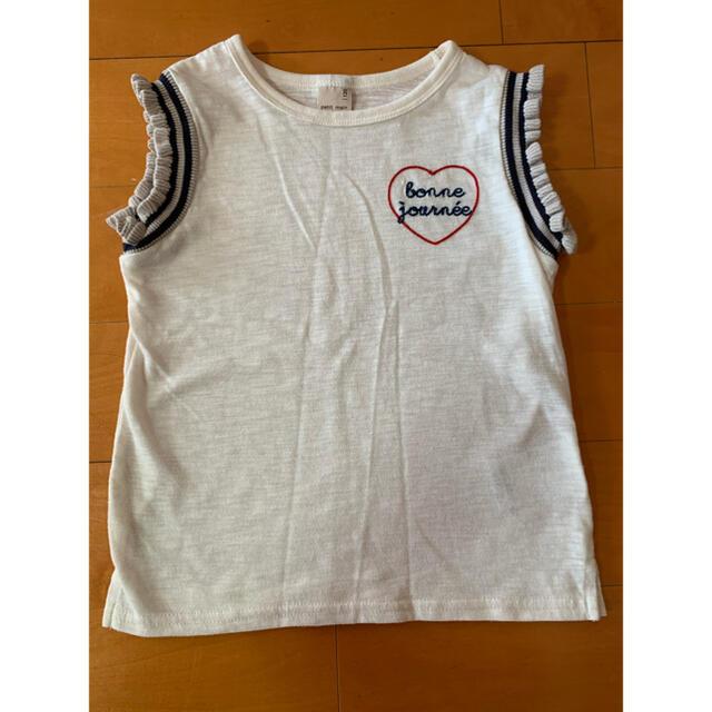 petit main(プティマイン)の未使用120センチ キッズ/ベビー/マタニティのキッズ服女の子用(90cm~)(Tシャツ/カットソー)の商品写真