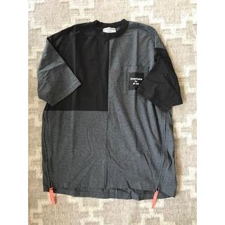 アメリカーナ(AMERICANA)のアメリカーナ リメイク サイドジップ BIGシルエット Tシャツ(Tシャツ(半袖/袖なし))
