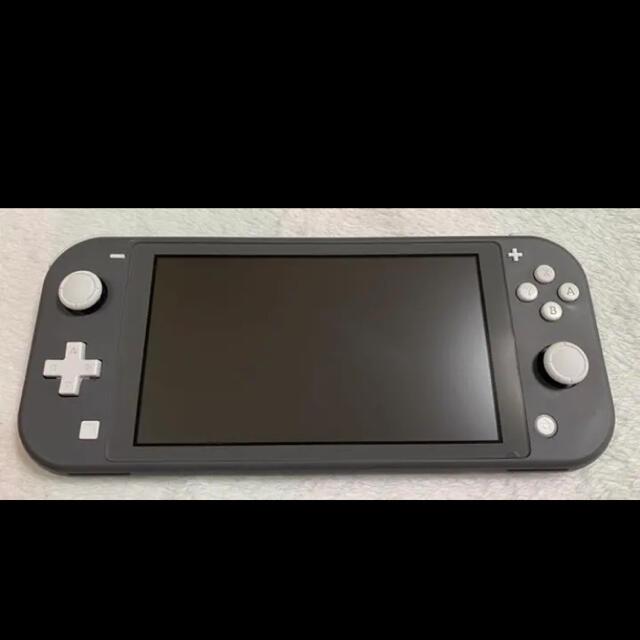 Nintendo Switch(ニンテンドースイッチ)のNintendo Switch lite グレー エンタメ/ホビーのゲームソフト/ゲーム機本体(家庭用ゲーム機本体)の商品写真