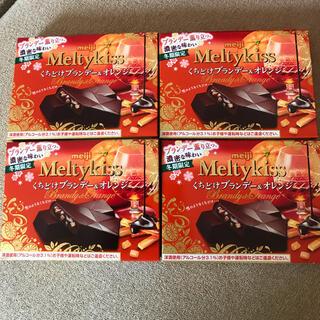 メイジ(明治)のメルティーキッス くちどけブランデー&オレンジ  4個(菓子/デザート)