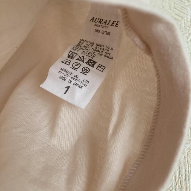 Ron Herman(ロンハーマン)のオーラリー カットソー ノースリーブ レディースのトップス(Tシャツ(半袖/袖なし))の商品写真
