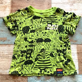 パーティーパーティー(PARTYPARTY)のパーティパーティ おばけ柄 半袖 Tシャツ(Tシャツ/カットソー)