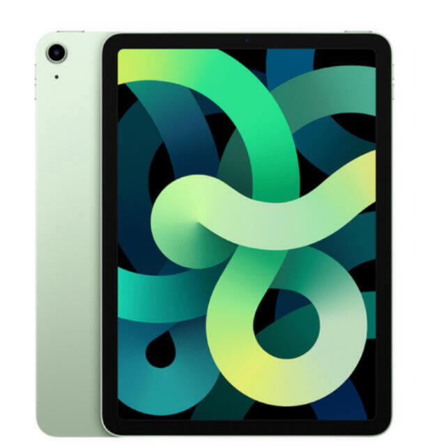 iPad(アイパッド)のipad air 4  64gb  WiFiモデル グリーン スマホ/家電/カメラのPC/タブレット(タブレット)の商品写真