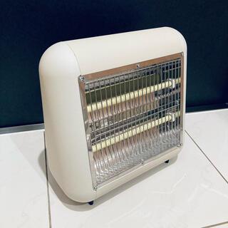 プラスマイナスゼロ ±0  遠赤外線電気ストーブ  ベージュ 15年製(電気ヒーター)