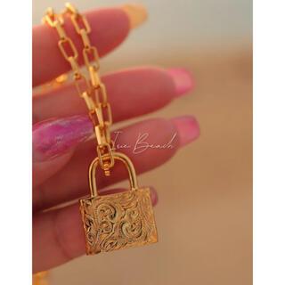 ザラ(ZARA)のアイリービーチ padlock ネックレス(ネックレス)