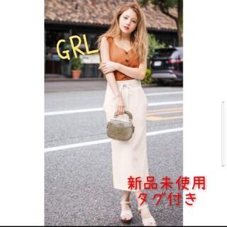 GRL - GRL ワッフルタイトスカート 春夏ボトム