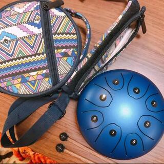 Hue Drum 小型スチールドラム 青(パーカッション)