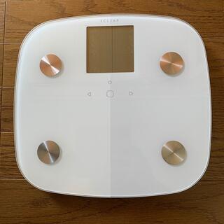 エレコム(ELECOM)の【専用】ELECOMエクリア体組成計 体重計 ホワイト 白(体重計/体脂肪計)